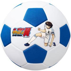 キャプテン翼 ボールはともだち サッカーボール ホワイト×ブルー 【molten|モルテン】サッカーボール3号球f3s1400-wb2|kemarifast