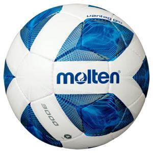 ヴァンタッジオ 3000 ホワイト×ブルー 【molten|モルテン】サッカーボール4号球f4a3000|kemarifast