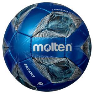 ヴァンタッジオ 3000 メタリックブルー×ブルー 【molten|モルテン】サッカーボール4号球f4a3000-bb|kemarifast