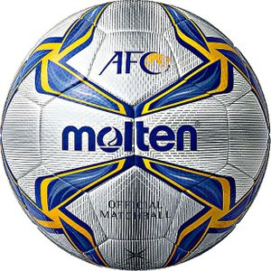 AFC 公式試合球 【molten|モルテン】サッカーボール5号球f5v5003-a|kemarifast