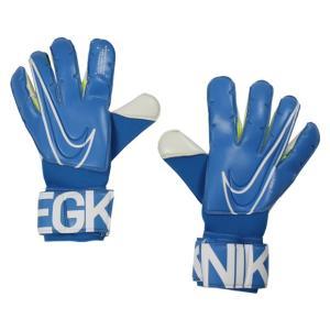 ナイキ、GKグローブ。 試合でグリップ力を発揮。親指、人差し指、小指の内側をフォームで包み、正確なボ...