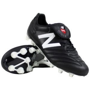 サッカースパイク ニューバランス 442 PRO HG BW1 2E ブラック×ホワイト NewBalance msckhbw12e|kemarifast
