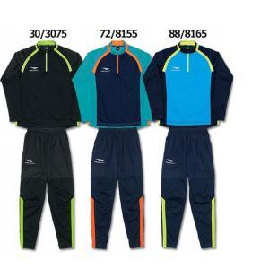 ペナルティ、トレーニングスーツ。 ハイゲージニット+PUコーティング素材でタイトフィットに高い可動性...
