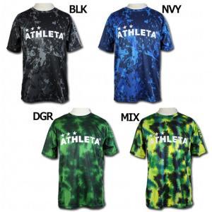 総柄プラTシャツ 【ATHLETA|アスレタ】サッカーフットサルウェアーsp-185|kemarifast