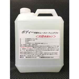 KEMITEC ケミテック プロ仕様カーケア用品 ボディ用撥水ムースコーティングプロ:4L|kemitecnet