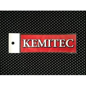 KEMITEC ケミテック オリジナルステッカー小(ロゴのみ)|kemitecnet