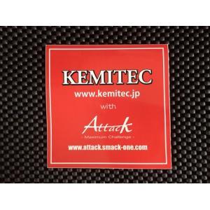 KEMITEC ケミテック アタックコラボステッカー|kemitecnet