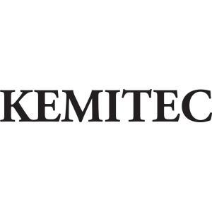 KEMITEC ケミテック オリジナルステッカー 切り抜きタイプ(ロゴ/ホワイト大)|kemitecnet
