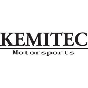 KEMITEC ケミテック オリジナルステッカー 切り抜きタイプ(ロゴ&サブ/ホワイト大)|kemitecnet