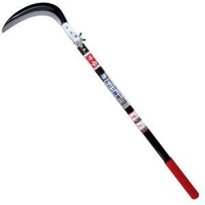 投げ刈りタイプで硬い葉の草刈りが楽々できます。  【用途】草刈り鎌。  【機能】除草作業用です。 硬...