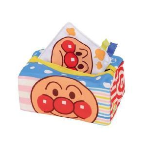 ベビラボ アンパンマン どんどんでるでる アンパンマンティッシュ 新品   知育玩具 おもちゃ
