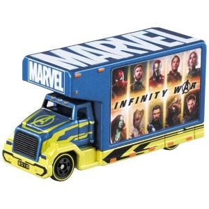 MARVELの特徴である『レッドボックスロゴ』をアドトラックに!映画「アベンジャーズ インフィニティ...
