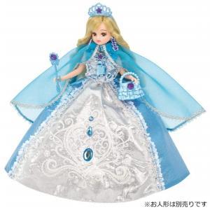 ドレス ゆめみるお姫さま アクアクリスタルドレス 新品リカちゃん   (リカちゃん人形 着せ替え人形 女の子向け タカラトミー)|kenbill