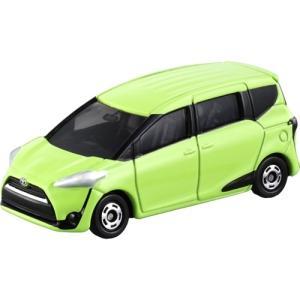 トヨタ「シエンタ」の最新モデルがトミカに登場!!  アクション:サスペンション、後部ドア開閉  【メ...