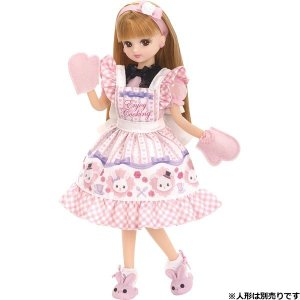 ドレス LW-06 エプロンセット 新品リカちゃん   (リカちゃん人形 着せ替え人形 女の子向け タカラトミー)|kenbill