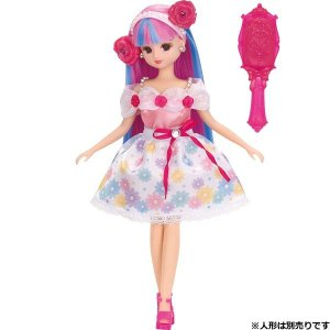 レス キラチェン ドレスセット おしゃれローズ 新品リカちゃん   (リカちゃん人形 着せ替え人形 女の子向け タカラトミー)|kenbill