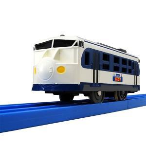 話題のJR四国「鉄道ホビートレイン」プラレール号が登場  ■1両編成の商品です。  ■動力車で2スピ...