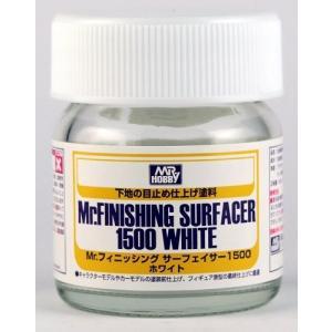 Mr.フィニッシングサーフェイサー1500ホワイト ビンタイプ 新品塗料   GSIクレオス 仕上げ...