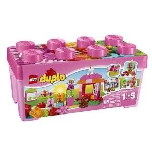 ピンクのコンテナデラックス 10571 新品レゴ デュプロ   LEGO 知育玩具 (弊社ステッカー付)|kenbill