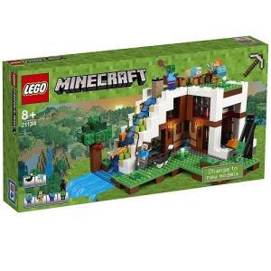 滝のふもと 21134 新品レゴ マインクラフト   LEGO Minecraft 知育玩具 (弊社ステッカー付)|kenbill