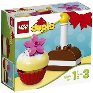 はじめてのデュプロ®ケーキでいろいろなしゅるいのケーキが作れるよ。バースデーやとく...