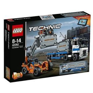 コンテナトラック & ローダー 42062 新品レゴ テクニック   LEGO 知育玩具 (弊社ステッカー付)|kenbill