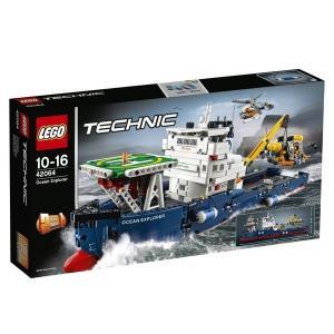 海洋調査船 42064 新品レゴ テクニック   LEGO 知育玩具 (弊社ステッカー付)|kenbill