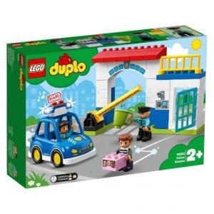 光る! 鳴る! ポリスカーとポリスステーション 10902 新品レゴ デュプロ   LEGO 知育玩...