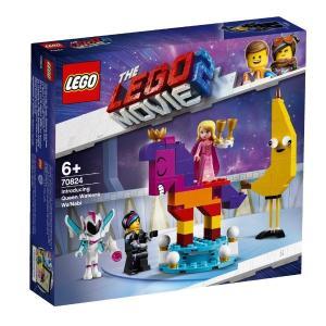 ルーシーとわがまま女王 70824 新品レゴ ムービー   LEGO MOVIE 知育玩具 (弊社ス...