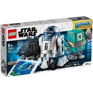 レゴ スター・ウォーズのブースト ドロイドコマンダーを組み立て、コードを使いミッションにチャレンジし...
