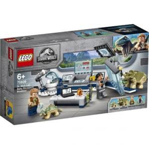 ウー博士の研究所:赤ちゃん恐竜の脱走 75939 新品レゴ ジュラシックワールド  LEGO 知育玩具 (弊社ステッカー付)|kenbill