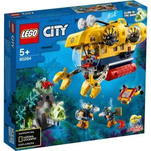 海の探検隊 海底探査潜水艦 60264 新品レゴ シティ   LEGO 知育玩具