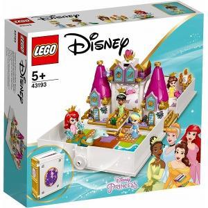 アリエル、ベル、シンデレラ、ティアナのプリンセスブック 43193 新品レゴ ディズニープリンセス   LEGO Disney 姫 知育玩具 (弊社ステッカー付)|kenbill