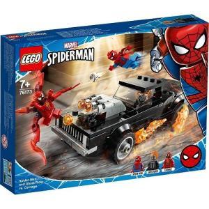 スパイダーマン&ゴーストライター vs.カーネイジ 76173 新品レゴ スーパー・ヒーローズ   LEGO MARVEL 知育玩具 (弊社ステッカー付)|kenbill