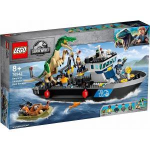 バリオニクスの水上脱出 76942 新品レゴ ジュラシックワールド   LEGO 知育玩具 (弊社ステッカー付)|kenbill