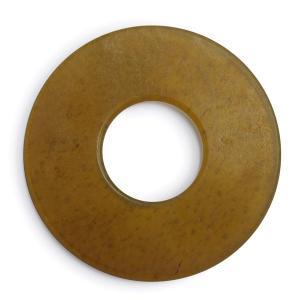 剣道竹刀用の極上特選革鍔5mm厚です。 革鍔の材料は水牛の革です。 生き物を素材としているため、 プ...