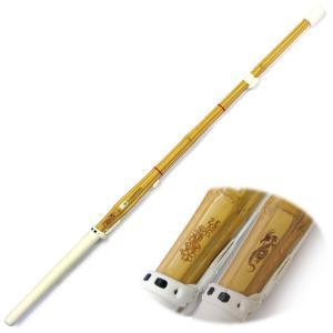 竹刀 剣道 30〜38(幼年〜高校) レーザー彫り「龍・桜」普及型 吟柄風仕組|kendo-express