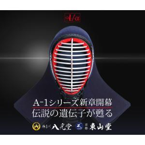 剣道 面 A-1α  6ミリ 織刺 ISG付 防具