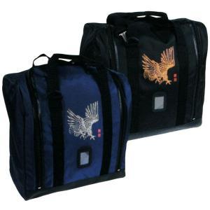 鷹絵入角型ボストン防具袋