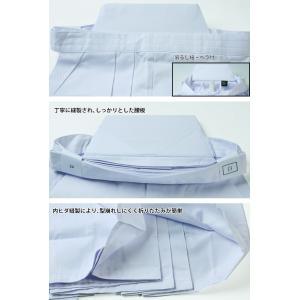 ●剣道袴・白(ひだが取れにくい、洗濯や練習後の整え簡単、内ヒダ縫製加工)|kendouya|03