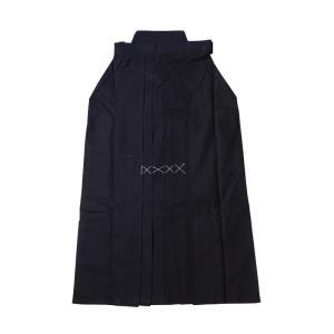剣道 袴●正藍染8000番綿袴(ひだが取れにくい、洗濯や練習後の整え簡単、内ヒダ縫製加工)|kendouya|04