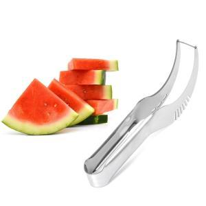 新スイカ果物と野菜のスライサーカッターキッチンツールキッチンナイフ実用ツール多目的ステンレス鋼|kenji1980-store