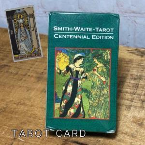 タロットカード スミス・ワイト・タロット ボックス 英語版 カード ヒーリング 占い SMITH WAITE TAROT グリーンバック|kenji1980-store