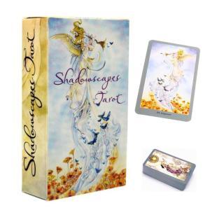 タロットカード 魔女のタロット shadowscape tarot ボックス 英語版 カード ヒーリング 占い Silver back|kenji1980-store