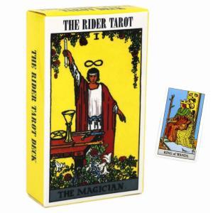 タロットカード ライダーウェイトタロット THE RIDER TAROT ボックス 英語版 カード ヒーリング 占い Checkered back|kenji1980-store