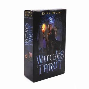 タロットカード 魔女のタロット WITCHES TAROT ボックス 英語版 カード ヒーリング 占い|kenji1980-store