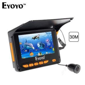 Eyoyo 釣り用 水中カメラ 4.3 30mケーブル ビデオ録画機能 サンバイザー付き フィッシュファインダー kenji1980-store