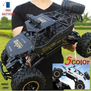 37センチ RC ラジコン1/12 4WD オフロード  2.4Ghz  デュアルドライブ リモートコントロールカー