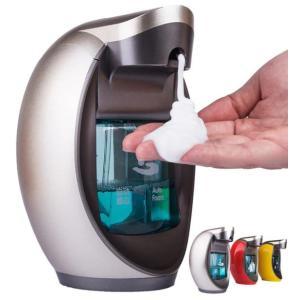 自動泡ソープディスペンサー泡 handsanitizer 高級石鹸ディスペンサー 400 ミリリットル|kenji1980-store