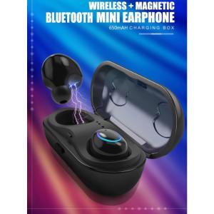 イヤフォン ワイヤレス BLUETOOTH イヤホンワイヤレスヘッドフォンステレオスポーツヘッドセット XIAOMI SAMSUNG IP|kenji1980-store